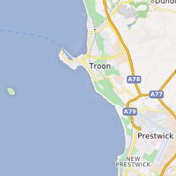 Troon Scotland Map.South Beach Troon Strathclyde Uk Beach Guide