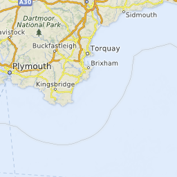 South Devon England Map.Devon Beaches South West England Uk Beach Guide