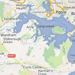 Poole England Map.Sandbanks Beach Poole Dorset Uk Beach Guide